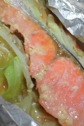 鮭のホイル焼き☆味噌バター
