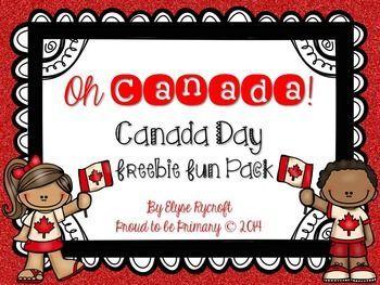 Canada Day FREEBIE Pack