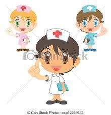 Resultado de imagen de cute nurse cartoon