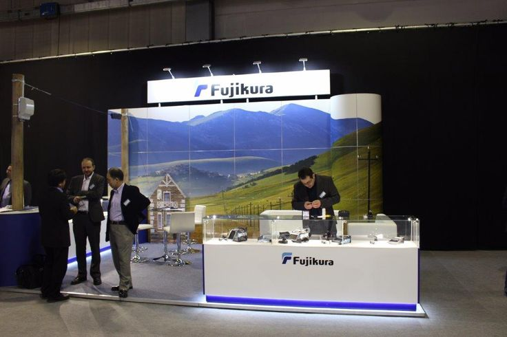 Another fantastic example of the design work that we can deliver at Luminati. This Fujikura display cabinet was used throughout the UK as exhibition display cabinets and retail display cabinets which featured a series of cabinets which had a toughened glass top over 6 LED lights, and an acrylic body with digitally printed company branding.