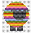 Sew Simple Sheep Cross Stitch Kit