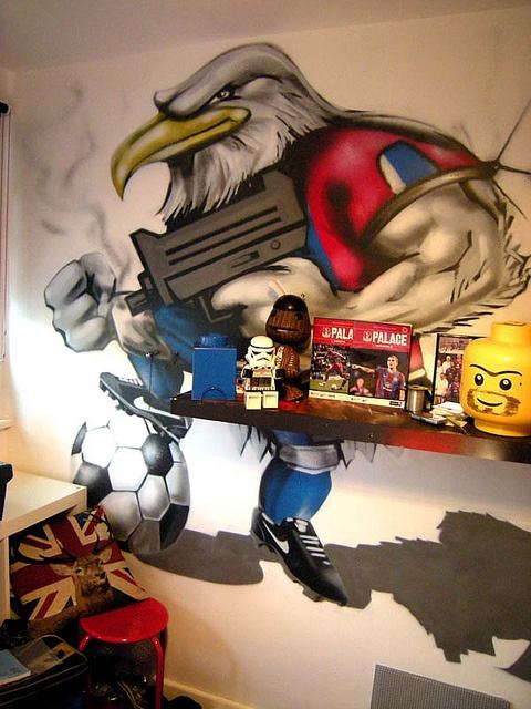 17 best images about aiden room on pinterest graffiti. Black Bedroom Furniture Sets. Home Design Ideas