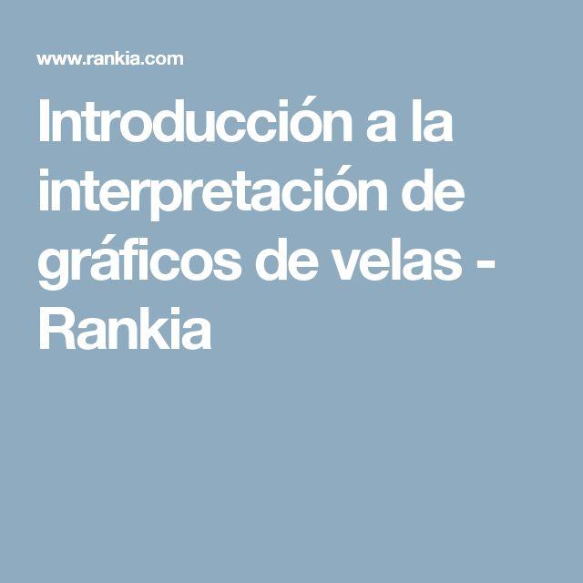 Introducción a la interpretación de gráficos de velas - Rankia
