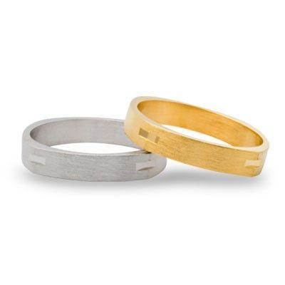 #aliança boda or bicolor #alianza boda oro bicolor Ref: 135-4