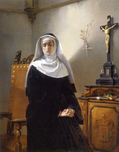 Giuseppe Molteni - La Signora di Monze, 1847