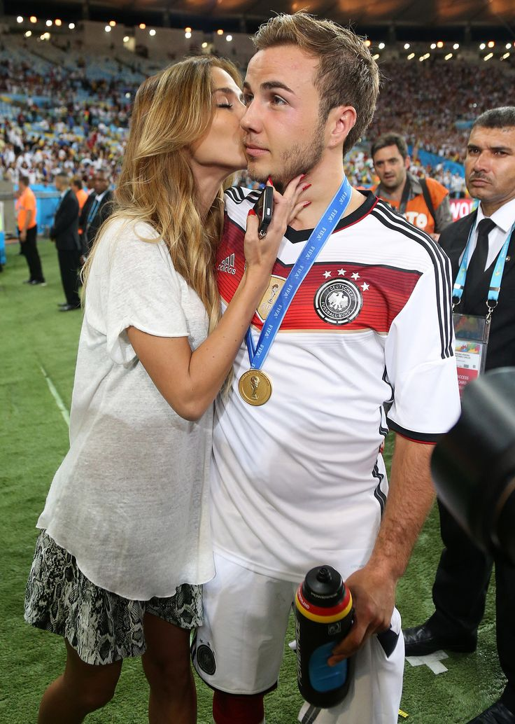 Germany's Mario Götze and his girlfriend are having a really, REALLY good week