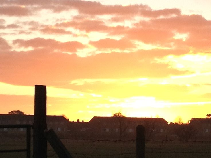 Sunset horncastle