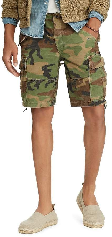 1253f8c030 Polo Ralph Lauren Big & Tall Classic Fit Camo Cargo Shorts #big #tall  #ShopStyle #MyShopStyle click link to see more information