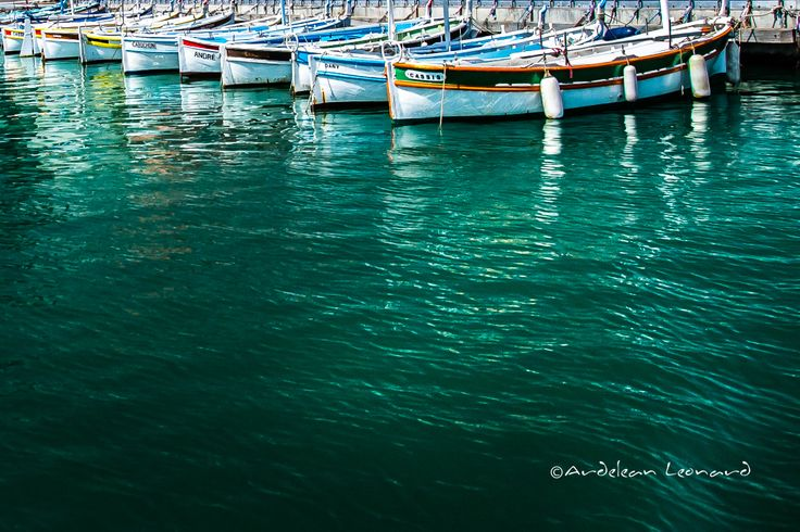 Boats and clear water ... Cassis/FRANCE 2014