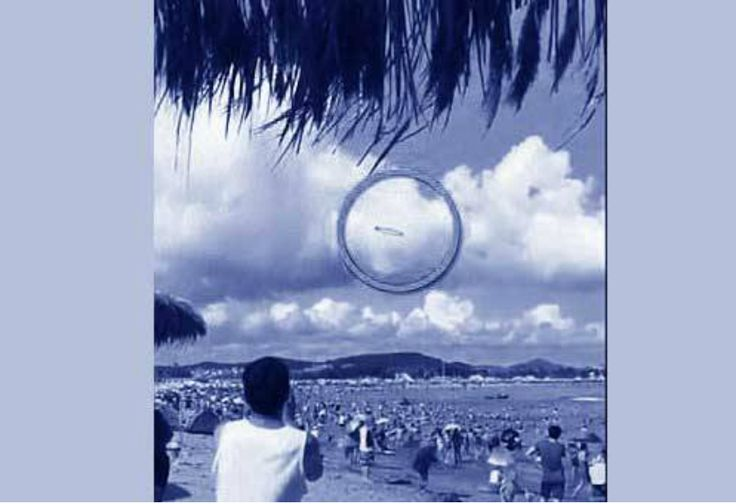 Benda Diduga UFO Melintas di Pantai China