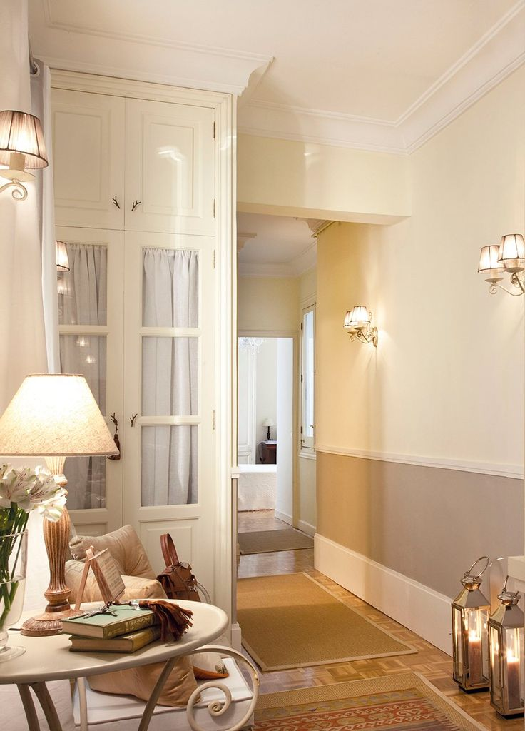 Sin t tulo habitaciones ni s pinterest pasillos for Armarios entrada recibidor