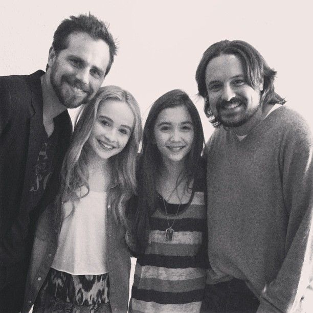 """Rider Strong and Will Friedle visiting the set of """"Girl Meets World""""... sorry for the spam.. I'm not excited or anything...pshhhhh."""