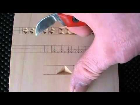 ▶ Chip Carving: Tips for Beginners - YouTube