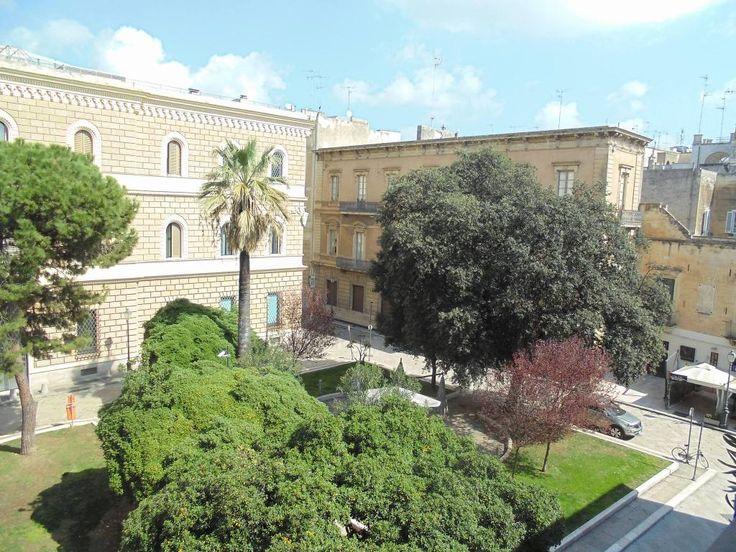 Nel cuore del centro storico di lecce affitto grazioso appartamento con affaccio su vista piazzetta santa chiara. per vivere al meglio
