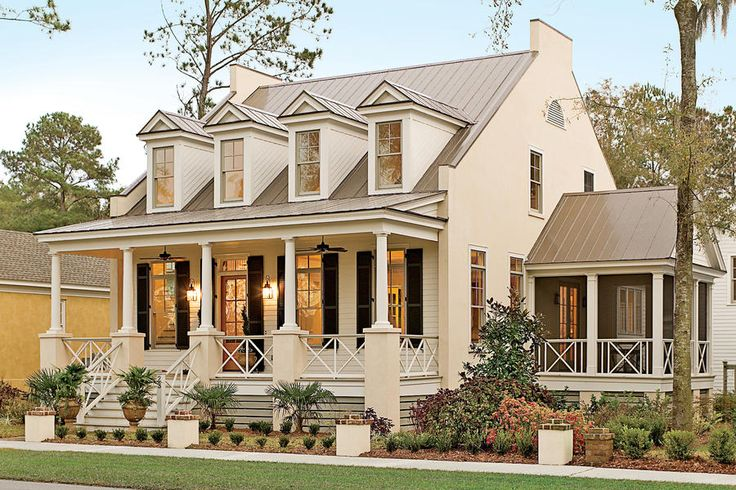 498 best southern living house plans images on pinterest for Southern architectural styles