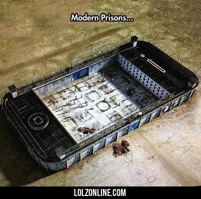 Modern Prisons... #lol #haha #funny