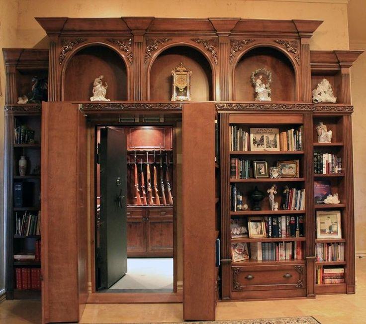 17 best ideas about safe room doors on pinterest hidden for Custom panic room
