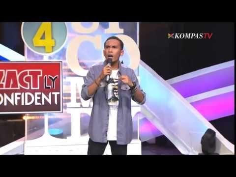Ini penampilan Abdur yang pertama kali saya lihat, dan dia berhasil membuat saya tertawa lepas :D Abdur: Menyebrang Jalan (SUCI 4 Show 10)