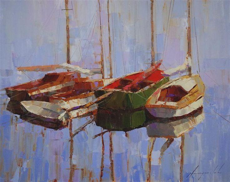 Allan Fisher Artist Paintings