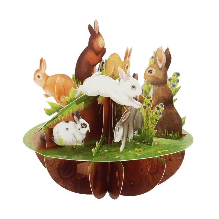 rabbits popup