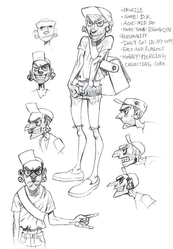 Character Design Profile : Best images about d on pinterest behance make