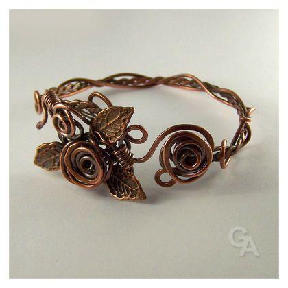 """Handmade bracelets. Fair Masters - handmade bracelet """"Roses"""". Handmade."""