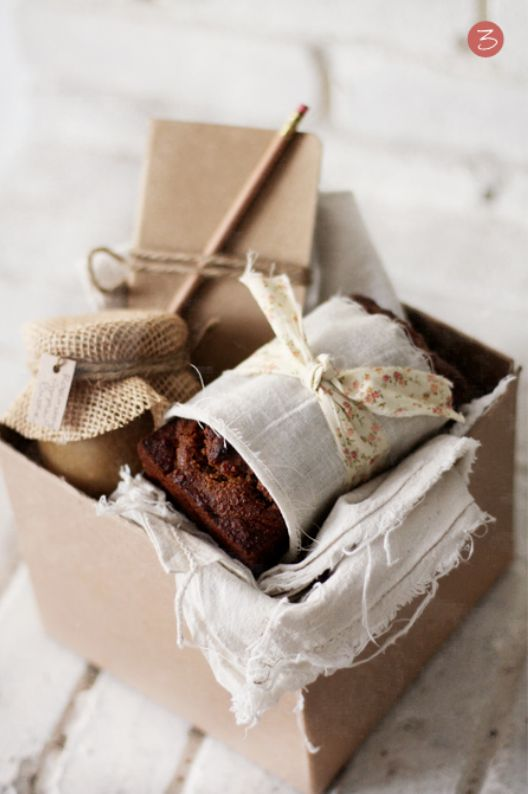 super stylish little hamper. bake, preserve and buy bulk notepad/pens, and package beautifully.