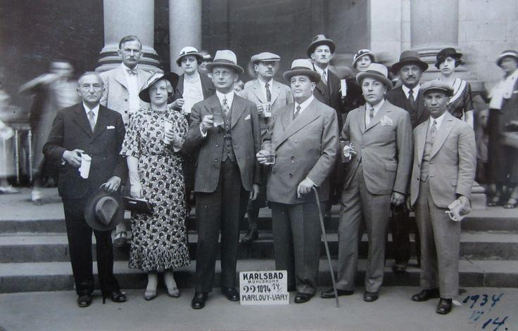 Karlsbad, Muhlbrunn, KArlovy-Vary 14 june 1934