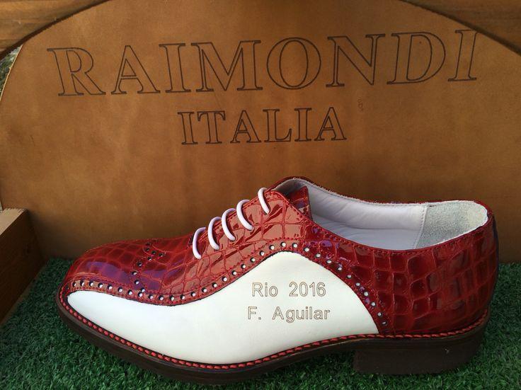 #Raimondi #raimondigolfshoes #golf #shoes #golfshoes #italianstyle #handmadeinitaly #italy #originali #madeinitaly  #felipeaguilar
