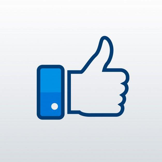 Facebook Like Icon Free Vector Free Vector Freepik Vector Freebackground Freetechnology Freeicon Freefacebook Vector Free Like Icon Social Media Icons