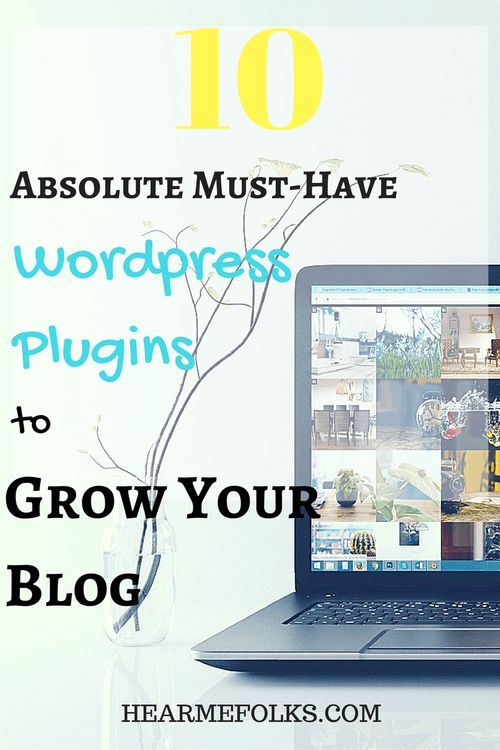 Get this list of essential wordpress plugins to help you grow your blog quickly. http://hearmefolks.com/essential-wordpress-plugins/