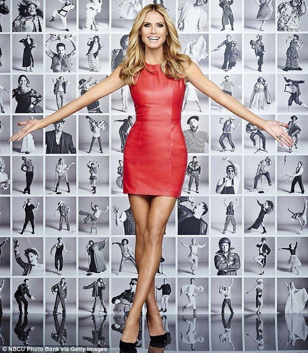 Heidi Klum, 42, Flaunts Her Long Legs In AGT Promos
