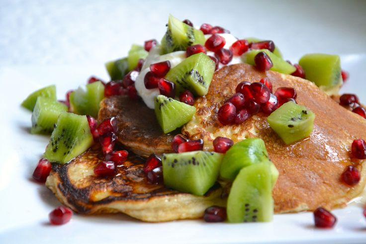 Recept på nyttiga amerikanska pannkakor | Mia Johansson - kontakt: miajohansson@live.com