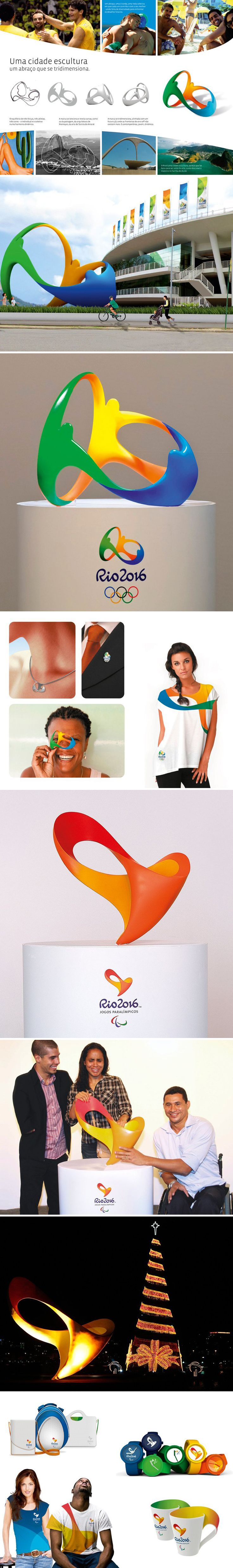 Rio 2016 branding. I hope to be wearing this as one of the athletes.