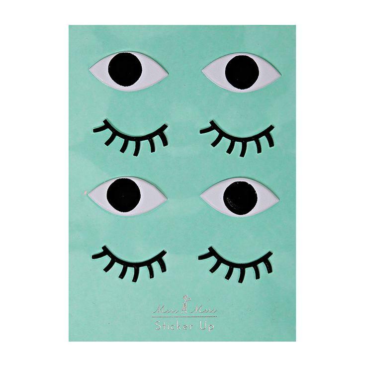 eye stickers   Meri Meri