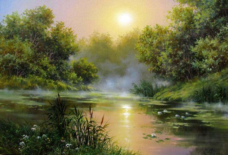 Н.Токарь. Утренний туман