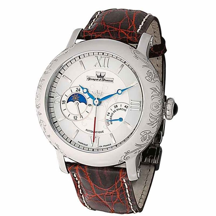 Montre Yonger & Bresson Automatique Diderot Automatique YBH8316-02 collection DIDEROT sur Mode In Motion, horloger en ligne
