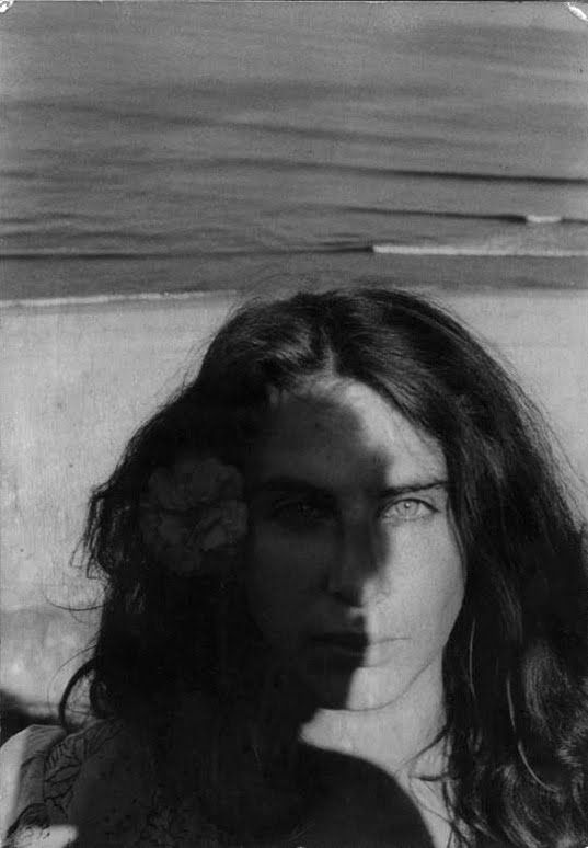 Robert Frank - Mary, Provincetown, 1958 [the photographer's shadow]