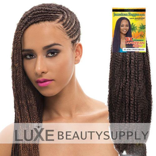Luxe Beauty Supply - Janet Collection 3X Caribbean Braid - 3X AFRO TWIST BRAID, $7.99 (http://www.lhboutique.com/janet-collection-3x-caribbean-braid-3x-afro-twist-braid/)