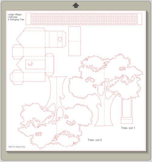 Бумажное 3D дерево | Мастер Поделок