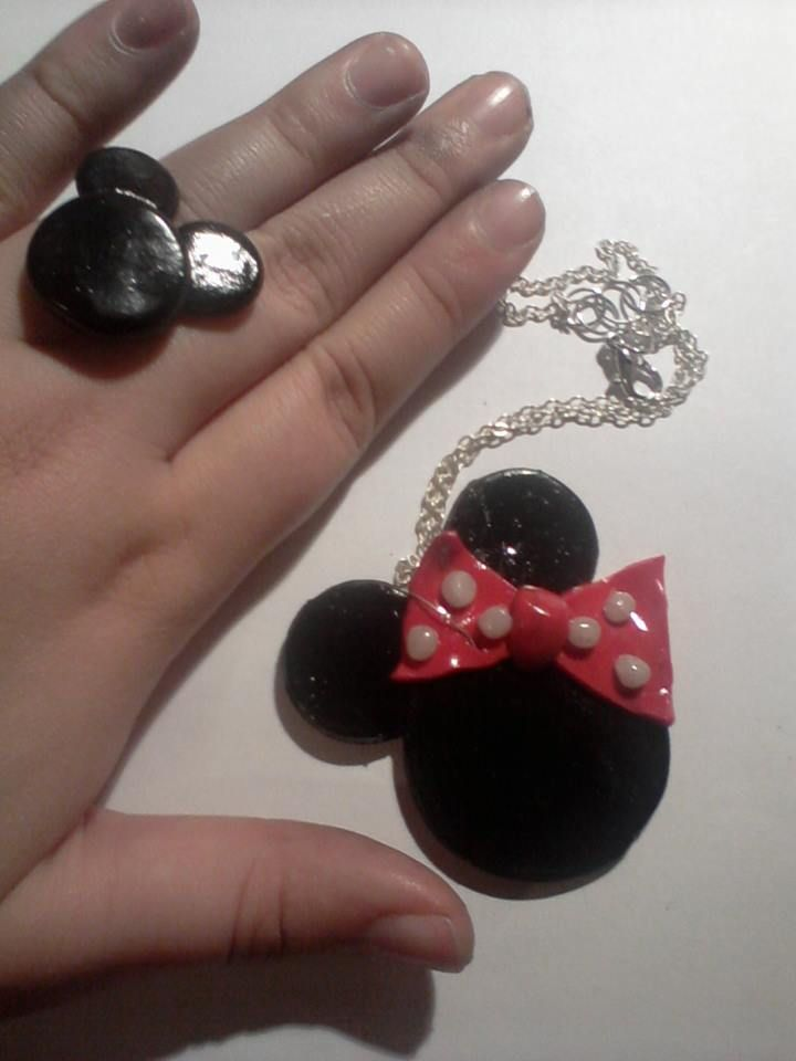 Minnie Mouse clay.. :)