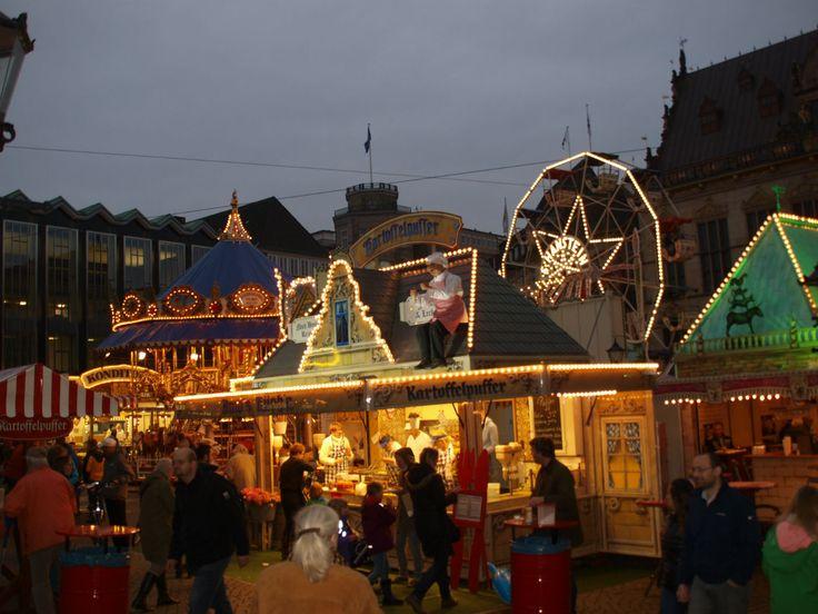 Hansabyens Bremens julemarked | Reiseliv