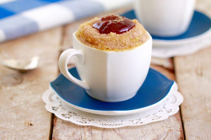 Microwave Jelly Donut in a Mug: Mugnut (Microwave Mug Meals)