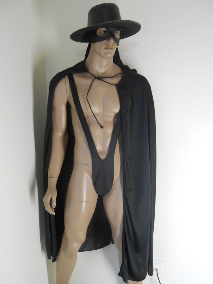 Zorro Mask Costume 12