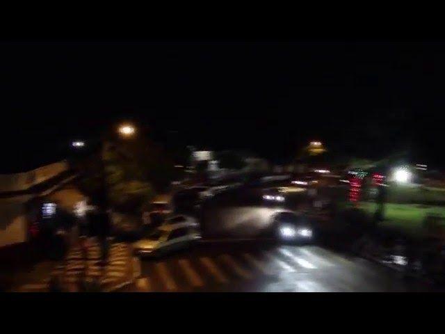 Feliz Ano Novo na Praça da Bandeira de Itaúna do Sul - Pr