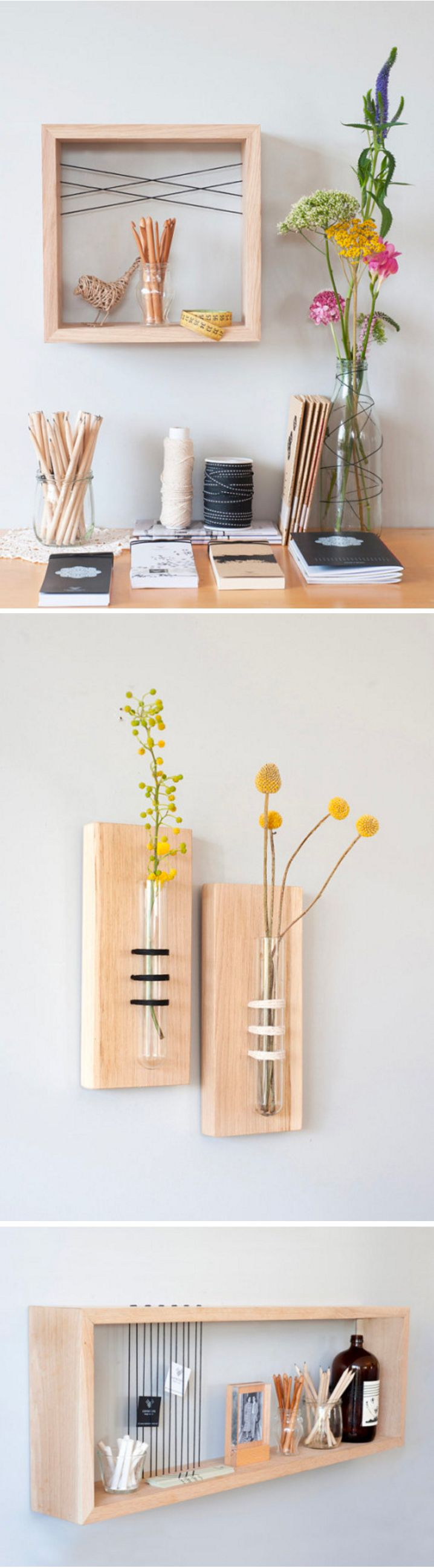 Thread and Wood Combine to Make Delightfully Simple and Functional Designs