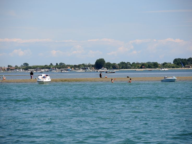 Venetians enjoying a holiday out off the Island of Sant'Erasmo