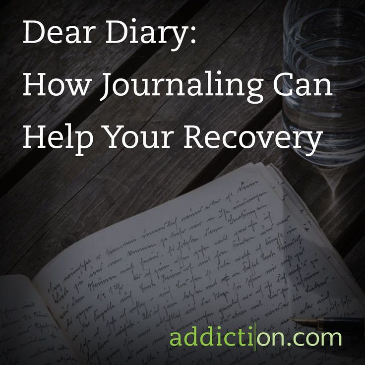 ... Recovery - Recovery - Pinterest - Journaling, Dear diary and Recovery