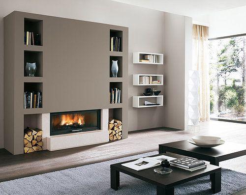 Palazzeti inset woodburner stove