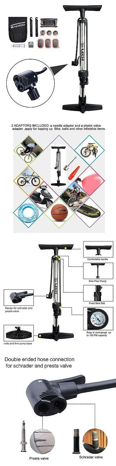 Pumps 22691: Anxinke High Performance Bike Floor Pump Bicycle Pump With Gauge Bicycle Tire... -> BUY IT NOW ONLY: $300 on eBay!